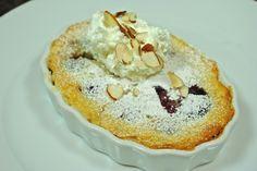 Almond Cherry Clafoutis