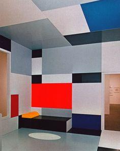 deathofastylist:    Piet Mondrian- Salon de Madame B. (1923)