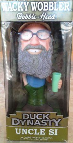 Duck Dynasty Wacky Wobbler Uncle Si Bobble Head http://popvinyl.net #funko #funkopop #popvinyl