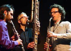 Trio de clarinettes Charles Houvenaghel.
