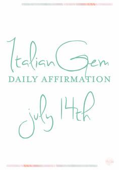 Hello Beautiful Gems, Welcome to ItalianGem Daily Affirmation! Affirmation Of The Day, Hello Beautiful, Setting Goals, My Goals, Positive Affirmations, Gratitude, Closer, Grateful, Meditation