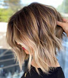 Medium Shag Haircuts, Bob Hairstyles For Thick, Haircut For Thick Hair, Sleek Hairstyles, Haircuts For Fine Hair, Cool Haircuts, Fine Hair Hairstyles, Brown Hairstyles, Thick Coarse Hair