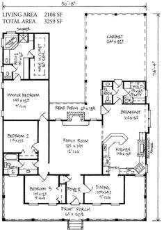 Plan 14169KB: Farmhouse Cottage