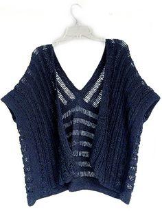 Ravelry: kokonoir's SUMMER COTTON WRAP ruana/kimono style