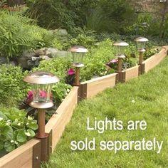 Landscaping edging ideas diy outdoor living 27 Ideas for 2019 - Modern Landscape Timber Edging, Landscape Timbers, Landscape Design, Garden Design, Small Space Gardening, Gardening Tips, Organic Gardening, Wooded Landscaping, Landscaping Ideas