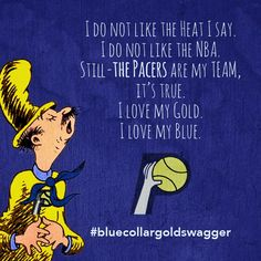 Dr Suess & the Indiana Pacers