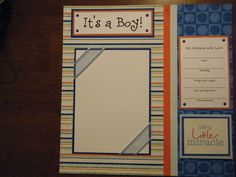 baby boy scrapbook page ideas | 20 Premade 12x12 Scrapbook Pages for Your Baby Boy and Scrapbook Album ...