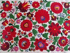 The 200 years old Matyó embroidery  is now on the UNESCO's list of Intangible Cultural Heritage of Humanity. #Hungary