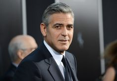 """FILE - In this Oct. 1, 2013 file photo, actor George Clooney attends the premiere of """"Gravity"""" at the AMC Lincoln Square Theaters, in New York. The Hollywood Foreign Press Association announced on the Golden Globe Awards website that Clooney will be the next recipient of the Cecil B. DeMille Award. The Golden Globe Awards will be held on Jan. 11, 2015. (Photo by Evan Agostini/Invision/AP, File)"""