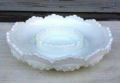 Fenton Hobnail Milk Glass Candel Holder by OurSimpleTreasures, $20.00
