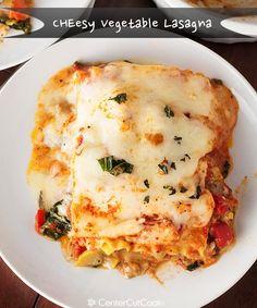Vegetable lasagna  - Center Cut Cook