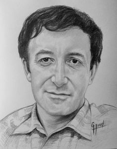 Peter Sellers.....Pencil Portrait Drawing by..... Greg Hand