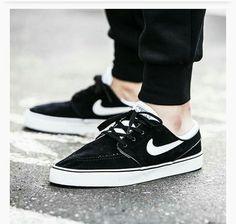 Nike zoom stefan janoski se (black/white)
