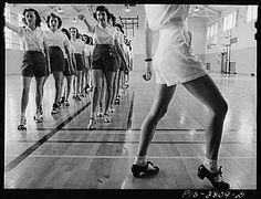 tap dancing, 1954