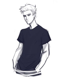 Jason Grace. Although he looks a little grumpy. --- HE'S SQUINTING BECAUSE HE DOESN'T HAVE GLASSES