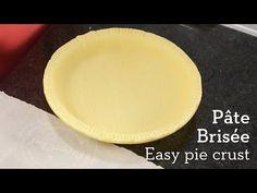 Pie Crust Tutorial (Pâte Brisée) - Pai's Kitchen - YouTube