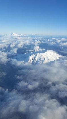 Mts St Helens and Adams, WA