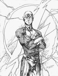 The CW Flash by Brett Booth