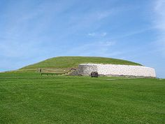The rising Sun illuminates the inner chamber of Newgrange, Ireland, only at the winter solstice.
