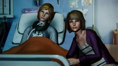 Life Is Strange Episode 4 It was shocking to discover Chloe was now paralysed and slowly dying. It was so heartbreaking
