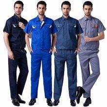 Tienda Online 10 Set Camisa Y Pantalon Los Hombres Conjuntos De Ropa De Servicio De Ingenieria De Gran Tama Ropa De Trabajo Conjuntos De Traje Ropa De Hombre