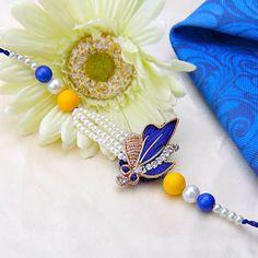 Spirited New Friendship Rakhi Rakshabandan Indian Bracelet Exclusive Wristband Wristbands
