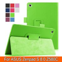 Fashion&Business Litchi PU Leather Case Stand Slim Cover for Asus Zenpad S…