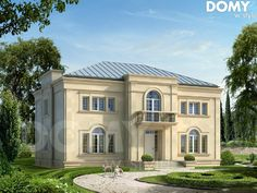 Our domain is in polish language. Main topic is about house designs and architectural designs such as energy-saving houses, bungalows, houses with attic and more.