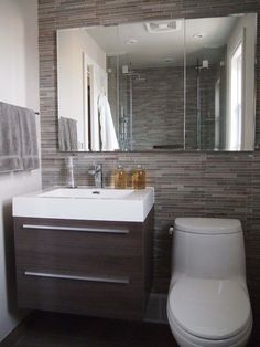 Small Bathroom Remodel  Small or tiny bathroom may seem like a difficult design task to take on; however these spaces may introduce a clever design challenge to add to your plate.  Creating a functional and storage-friendly bathroom may be just what your home needs. Every design element in a small bathroom should have a purpose and be functional in some way or another to create a space-saving sanctuary.  Before you dive in if you are looking for space-saving furniture ideas be sure to check…