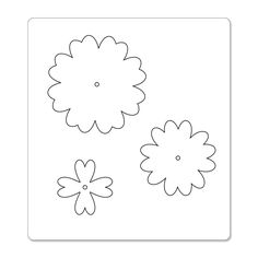 ... on Pinterest | Flower template, Templates and Felt flower template