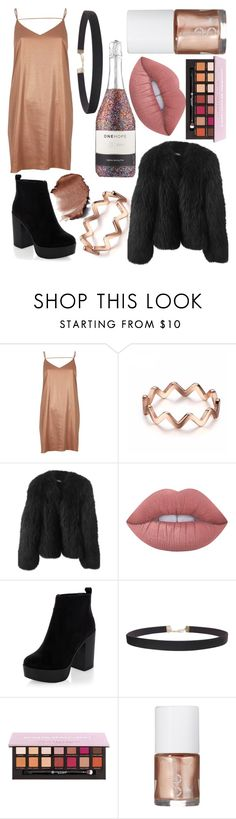"""""""New Years!!"""" by freyareeves ❤ liked on Polyvore featuring River Island, Balenciaga, Lime Crime, New Look, Humble Chic and Uslu Airlines"""