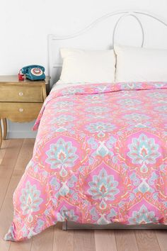 Floral Medallion Duvet Cover  #UrbanOutfitters