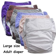 Ladies Pull Up Incontinence Pants Large Case of 56 Pants