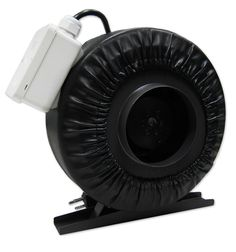 Yield Lab 6 Inch 440 CFM Air Duct Fan Vent System