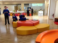 jesmond gardens primary. minimal furniture - it's a shoes off school makes spectacular spaces