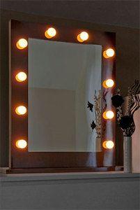Nice Beleuchteter Hollywood Spiegel Make Up Garderoben Spiegel mit Licht in Beauty u Gesundheit Make up Make up Utensilien