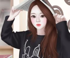 enakie by alexis_ziller on We Heart It Lovely Girl Image, Girls Image, Anime Korea, Korean Illustration, Girly M, Cute Girl Wallpaper, Cartoon Wallpaper, Girly Pictures, China Girl
