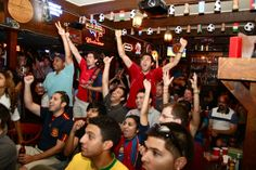 All eyes on Spain and Italy. Euro 2012 Final: Houstonians Love Fútbol - Hair Balls