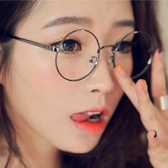 Buy 'MOL Girl – Round Glasses' with Free International Shipping at YesStyle.com. Browse and shop for thousands of Asian fashion items from China and more!