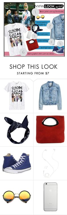 """""""Nyfw day 1"""" by blueeyed-dreamer ❤ liked on Polyvore featuring Bioworld, Boohoo, Laura Di Maggio, Converse, Merkury, ZeroUV, Native Union, StreetStyle, NYFW and polyvorecontest"""