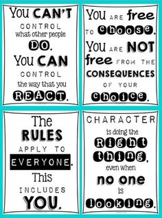 27 Classroom Poster Sets: Free and Fantastic from Teach Junkie Classroom Attitude Posters - Collection Free Classroom Posters - Teach Junkie