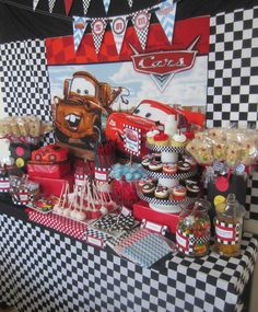 Disney Cars Birthday Party Ideas   Photo 2 of 35   Catch My Party