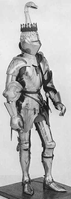 Italian armor 1400 finish 1490-1500