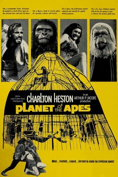 original planet of the apes movie poster - Google Search