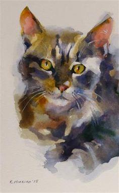 "Daily Paintworks - ""adopt154"" - Original Fine Art for Sale - © Katya Minkina"