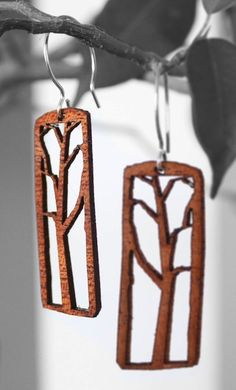 http://www.etsy.com/listing/68691468/wood-tree-earrings-made-in-san-francisco