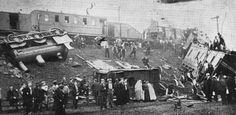 Train crash at Hindley. 24th July 1900.