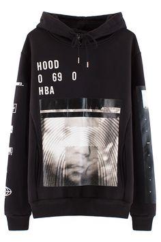 Hood By Air Vertical Padded Hoodie