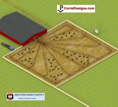 Free rodeo and corral system design and equipment locator Livestock Farming, Goat Farming, Horse Farm Layout, Barn Layout, Rinder Stall, Show Cattle Barn, Cattle Corrals, Campolina, Goat Shelter