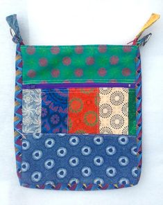 Hand made. Diy Projects To Make And Sell, Fabric Wallet, Sling Bags, Bright Ideas, South Africa, Wallets, Patterns, Sewing, How To Make